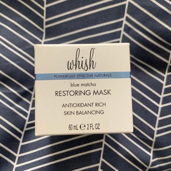 Whish Matcha Restoring Mask NIB
